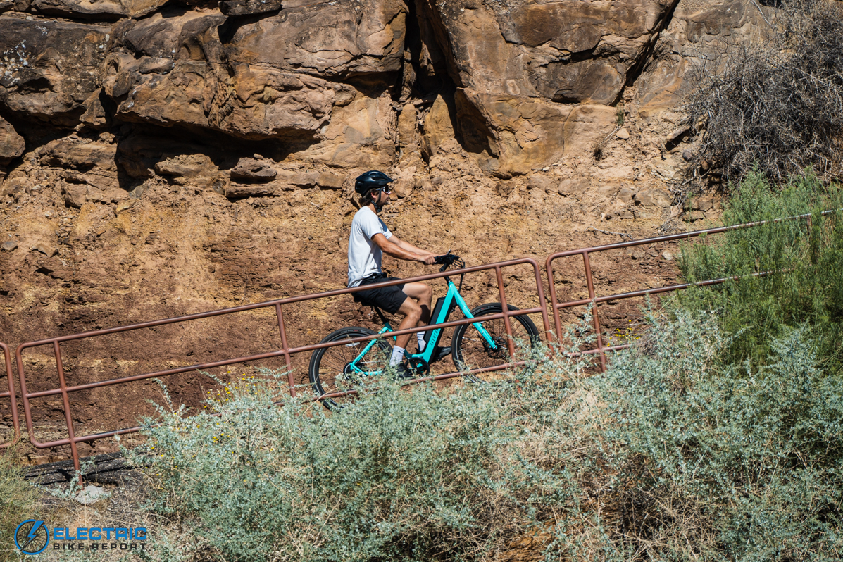 Aventon Pace 500 Step Through Electric Bike Review Hill Test