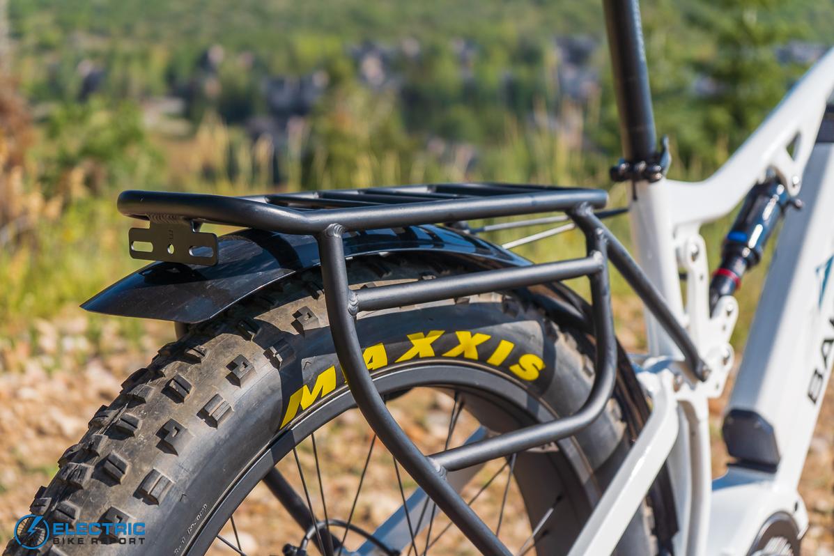 Bakcou Storm Electric Bike Review rack