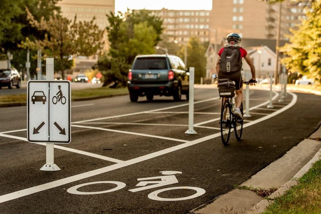 Bike lane Arlington