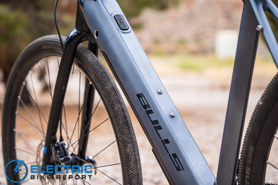 Bulls Grinder Evo-Lite Review Fazua Battery Pack Integrated Into Downtube