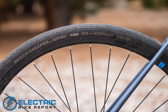 Bulls Grinder Evo Lite Electric Gravel Bike Review Schwalbe G-One Gravel Tires