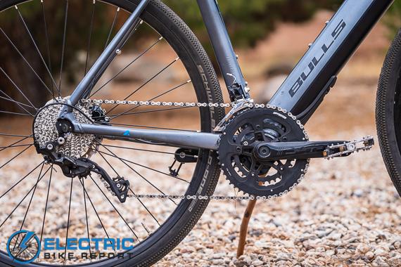 Bulls Grinder Evo-Lite Electric Gravel Bike Review Shimano Drivetrain