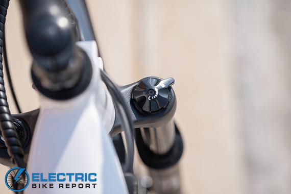 Euphree City Robin Electric Bike Review Air Fork