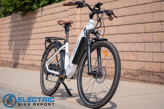 Euphree City Robin Electric Bike Review Geometry