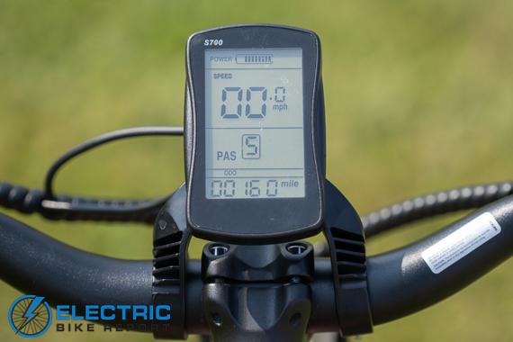 Euphree City Robin Electric Bike Review display
