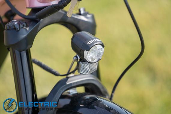 Euphree City Robin Electric Bike Review headlight