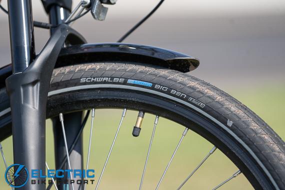 Euphree City Robin Electric Bike Review schwalbe tires