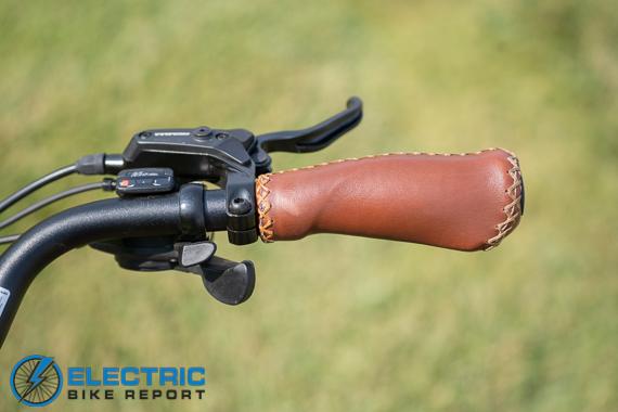 Euphree City Robin Electric Bike Review shifter