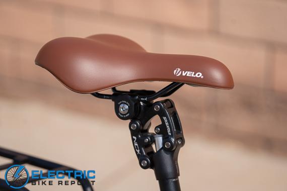 Euphree City Robin Electric Bike Review suspension seat post