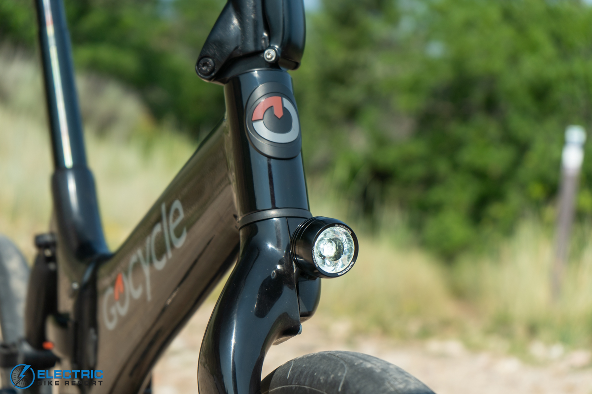 Gocycle G4 Electric Bike Review front