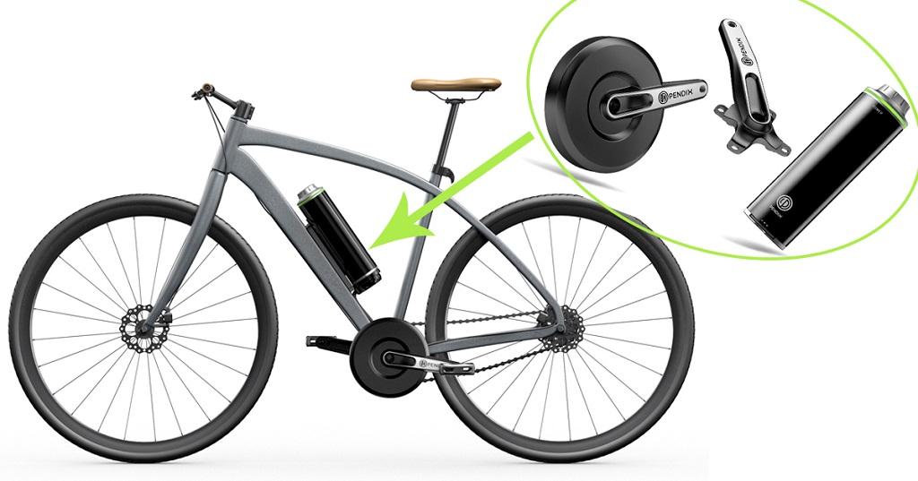 e-bike conversion kits - Pendix ebike kit