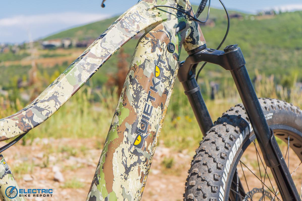 QuietKat Apex Electric Bike Review paint