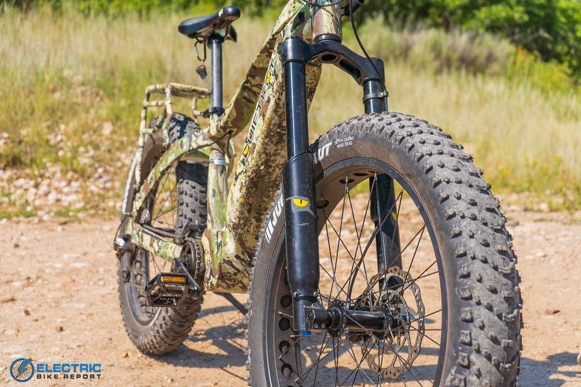 QuietKat Apex Electric Bike Review fork