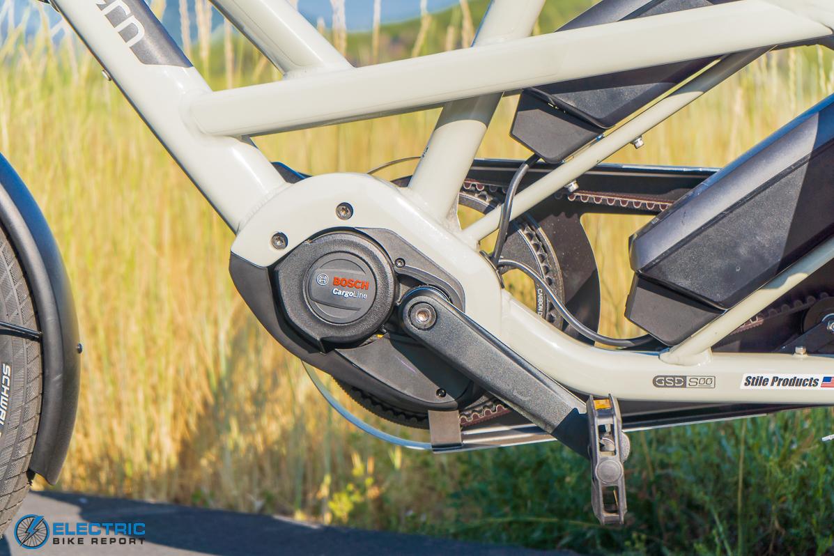 Tern GSD S00 LX Electric Bike Review motor