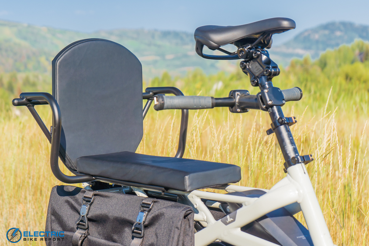 Tern GSD S00 LX Electric Bike Review seat
