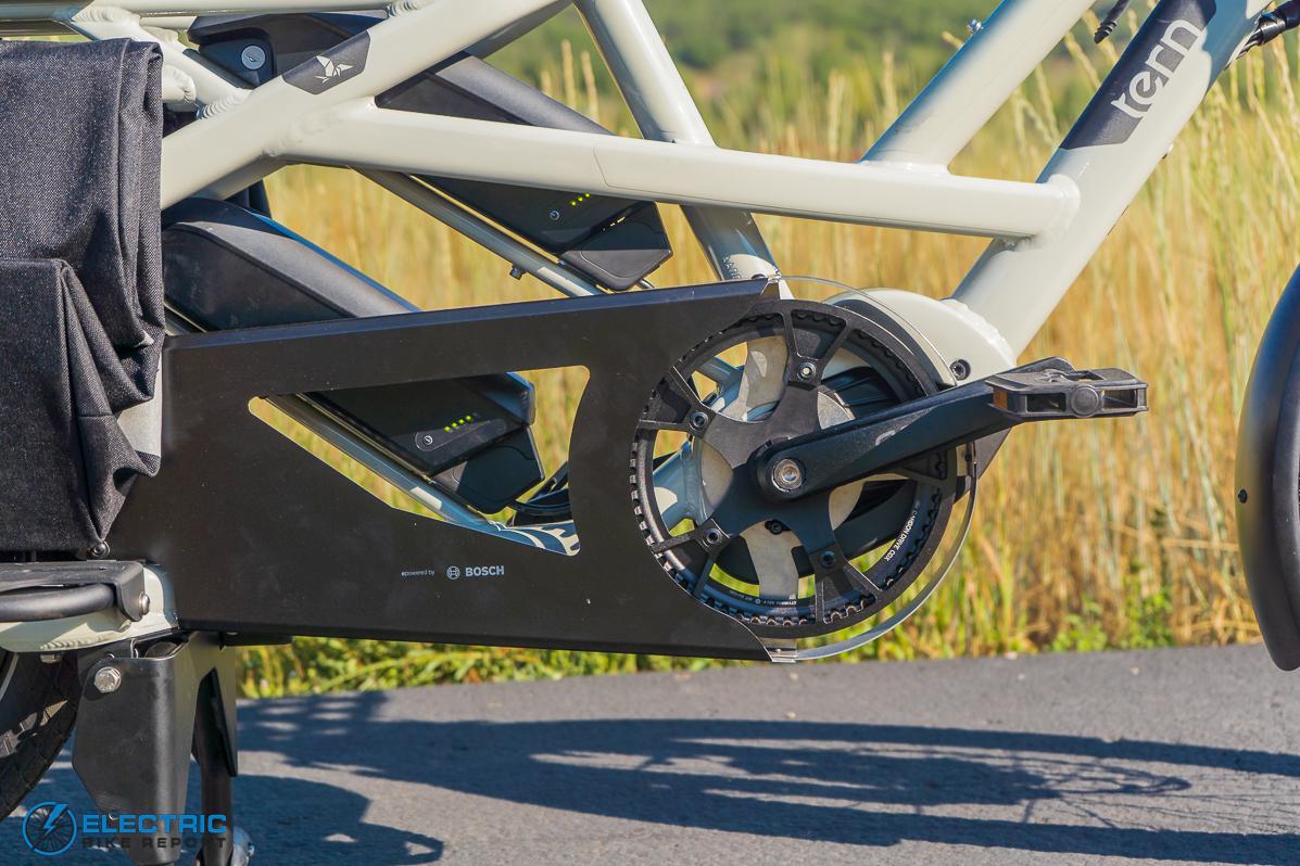 Tern GSD S00 LX Electric Bike Review drivetrain