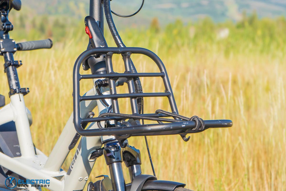 Tern GSD S00 LX Electric Bike Review rack