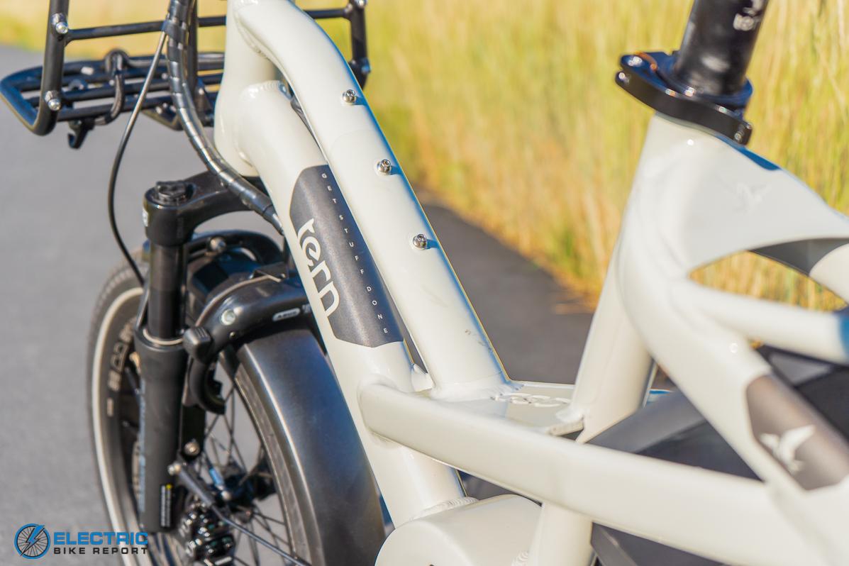 Tern GSD S00 LX Electric Bike Review frame