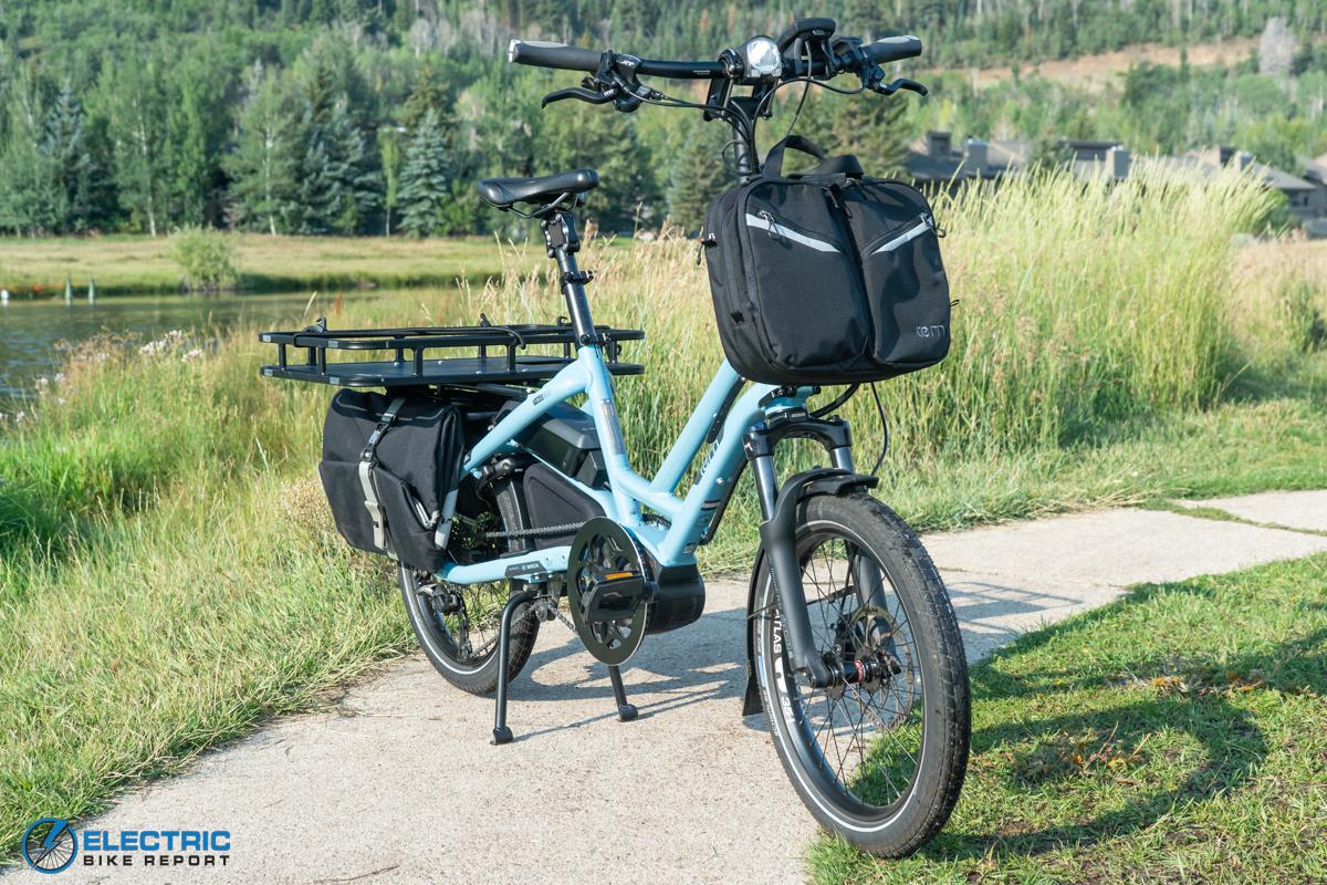 Tern HSD S11 Electric Bike Review frame
