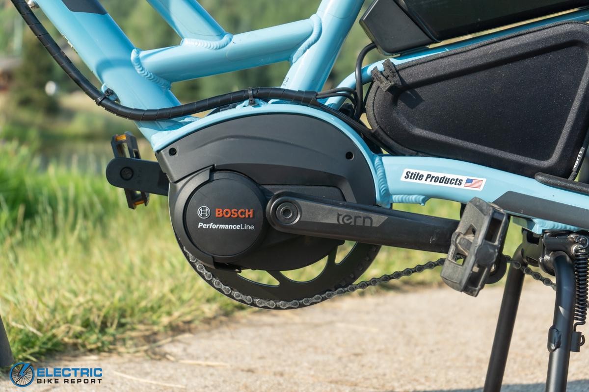 Tern HSD S11 Electric Bike Review motor