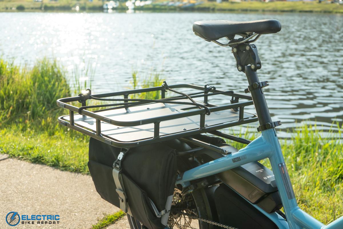 Tern HSD S11 Electric Bike Review rear rack