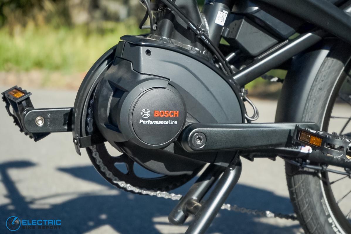 Tern Vektron S10 Electric Bike Review Bosch Motor