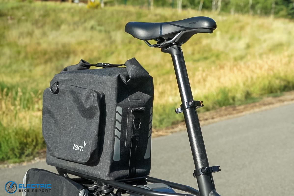 Tern Vektron S10 Electric Bike Review Telescoping Seat