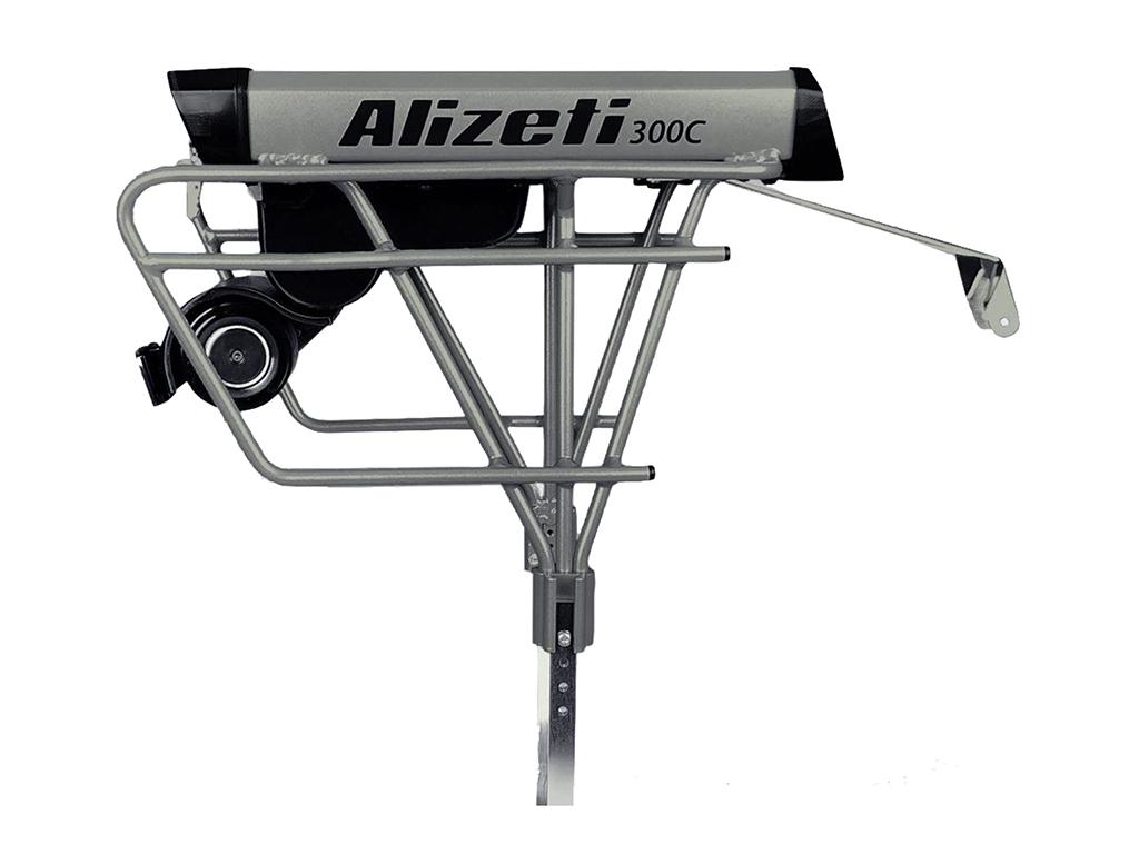 e-bike conversion kits - alizeti 300c stock kit silver