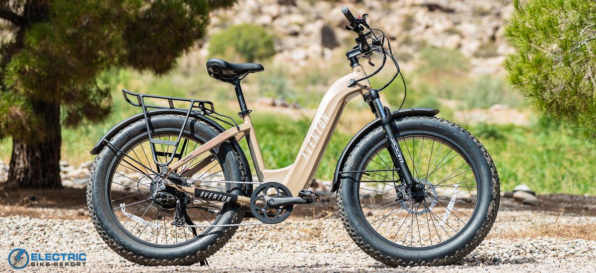 Best Cheap Electric Bikes - Aventon Aventure Step Through