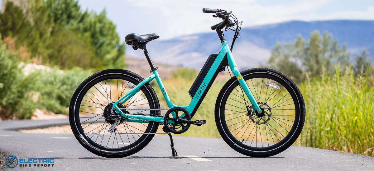Best Cheap Electric Bikes - Aventon Pace 500 Step Through
