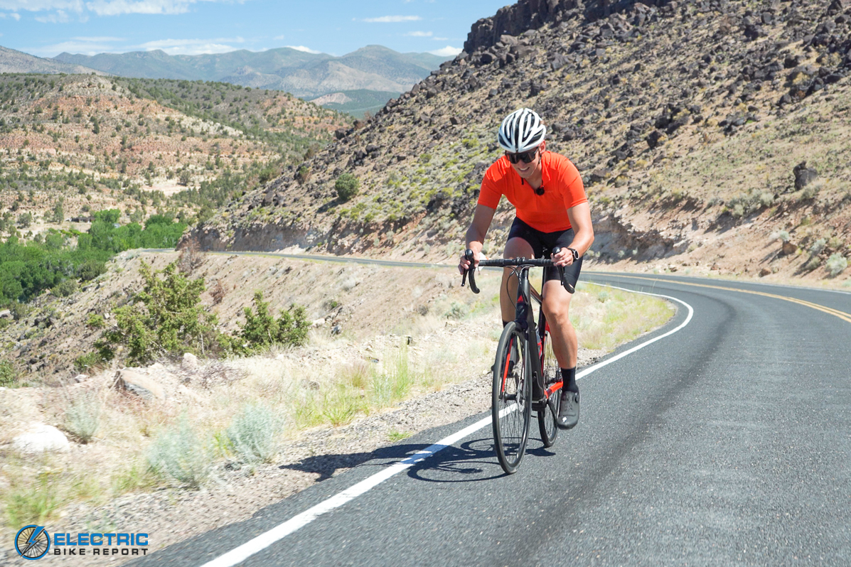Losing weight on an e-bike