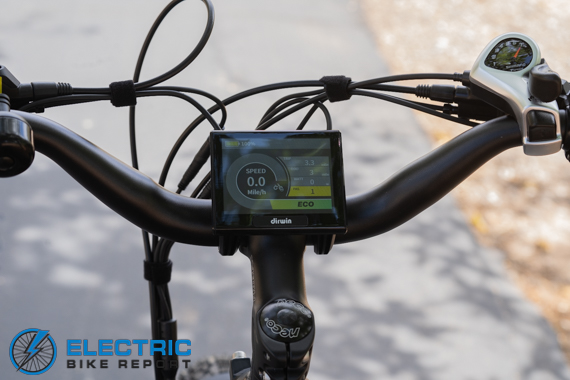 Dirwin Seeker Electric Fat Tire Bike Review 3.5 TFT Color Display