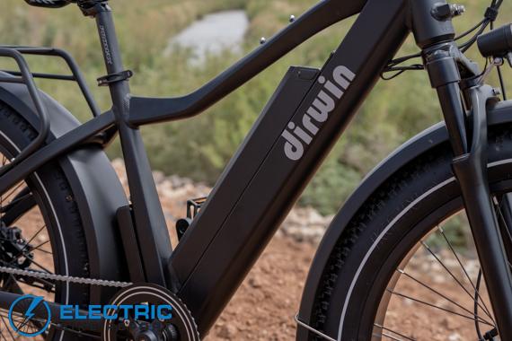 Dirwin Seeker Electric Fat Tire Bike Review 48V 16Ah Lithium Battery