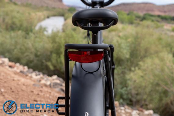 Dirwin Seeker Electric Fat Tire Bike Review 48V LED Rear Light