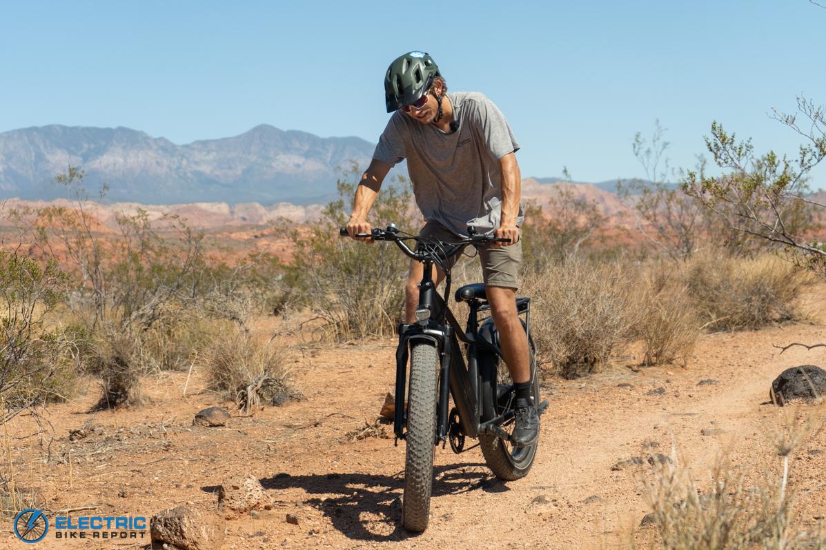 Dirwin Seeker חשמלי לצמיגי אופניים לצמיגי שומן בפינה