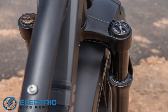 Dirwin Seeker Electric Fat Tire Bike Review Deadlock Hydraulic Suspension Fork