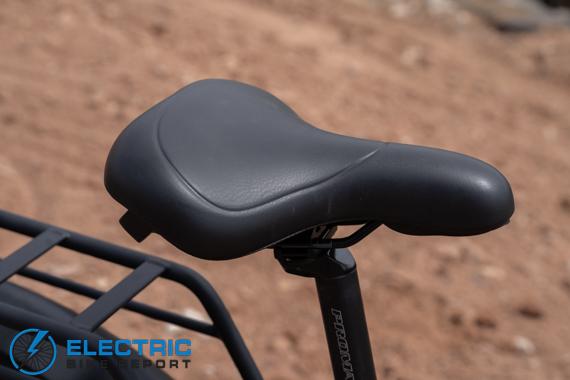 סקירת אופני צמיגי שומן חשמליים של דירווין HQ אוכף נוחות HQ