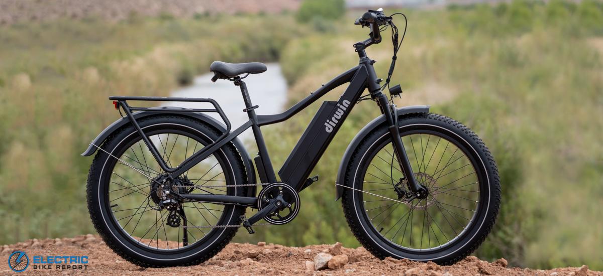 סקירת אופני צמיגי שומן חשמליים של דירווין