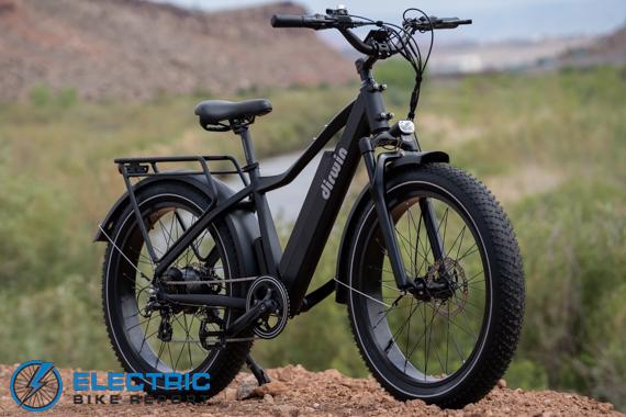 פרופיל סקירת אופני צמיגי שומן חשמליים של דירווין