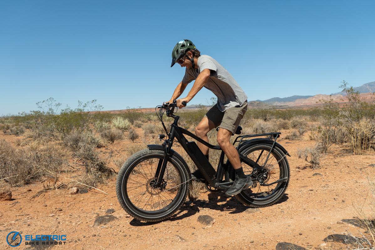 Dirwin Seeker Electric Fat Tire Bike Review Rock Garden