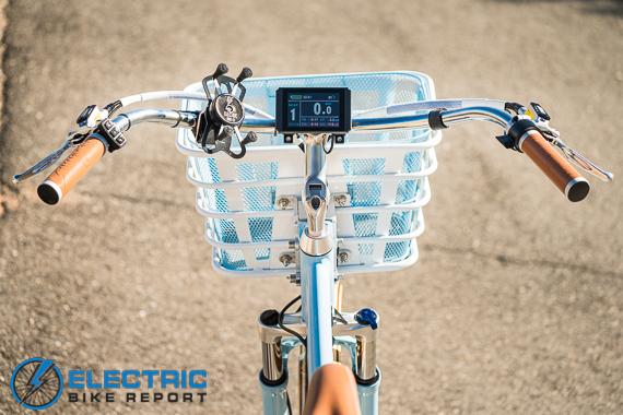 Electric Bike Company Model S Electric Bike Review Cruiser Swept Back Handlebars