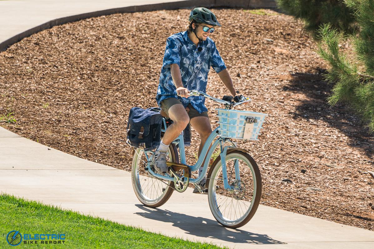 Electric Bike Company Model S Electric Bike Review Downhill Control