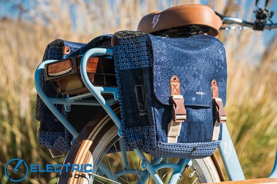 Electric Bike Company Model S Electric Bike Review Panier Bags