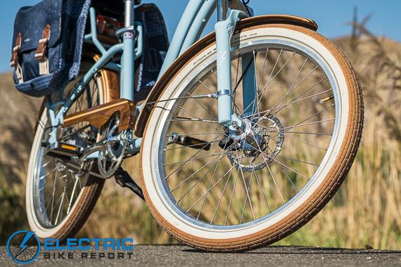 Electric Bike Company Model S Electric Bike Review Schwalbe Fat Frank Gumwall Tires
