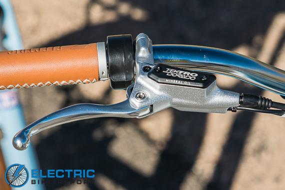 Electric Bike Company Model S Electric Bike Review Tektro Dorado Hydraulic Disc Brakes