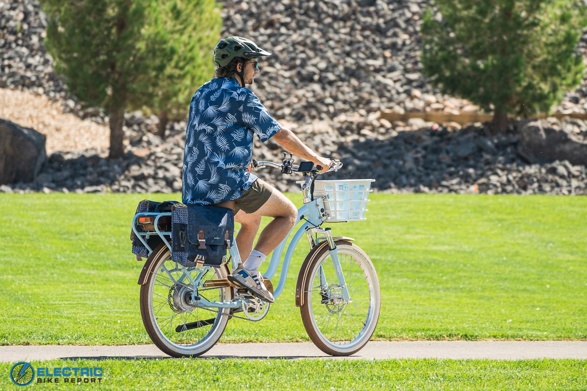 Electric Bike Company Model S Electric Bike Review Upright Geometry