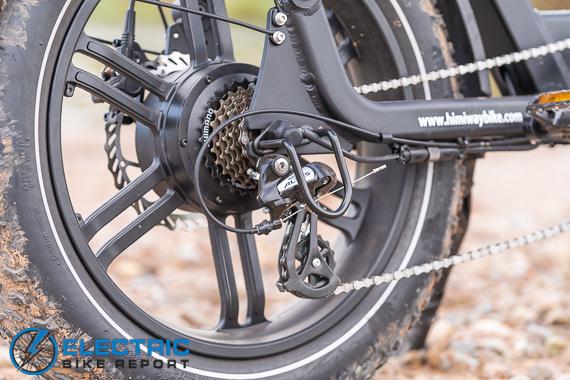 Himiway Escape Electric Bike Review Altus Drivetrain
