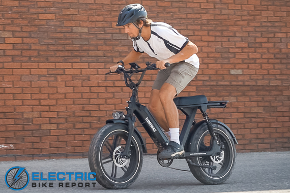 Himiway Escape Electric Bike Review Riding