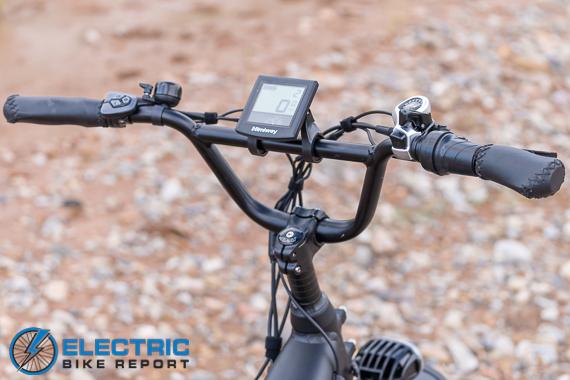 Himiway Escape Electric Bike Review bmx handlebars