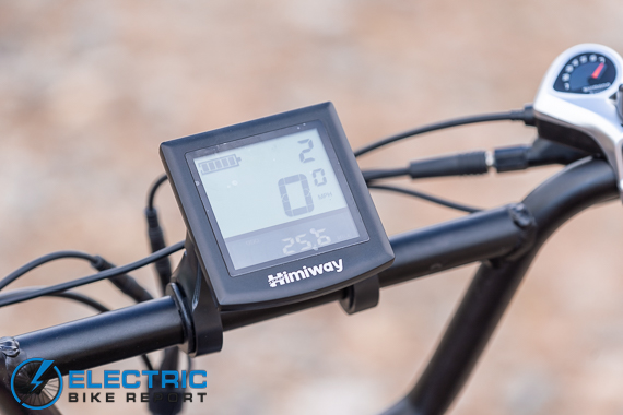 Himiway Escape Electric Bike Review display
